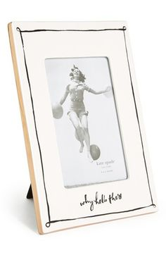 kate spade new york 'why hello there' frame (4x6) available at #Nordstrom