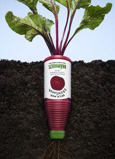 "Brämhults - 2013 ""Buvez plus de légumes"" Agence Bulldozer Reklambyrå"