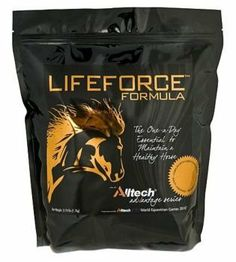 LIFEFORCE Formula Equine Supplement 11 lbs by LIFEFORCE. $97.99. LIFEFORCE Formula Equine Supplement LIFEFORCE Formula Equine Supplement is an all-natural, daily nutritional supplement that consists of more than 30 years of Alltech's scientifically-proven, fully traceable technologies. It allows horses to get the most out of their diets and contains five cutting-edge ingredients that fully comply with competition standards, where consistency and safety are a top priority. LIFEFO...