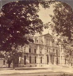 """Provincial Parliament Buildings, Fredericton, N.B."", ca. 1902."