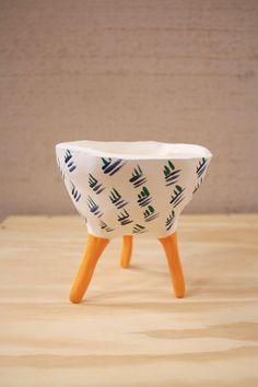 Leggy Planter #ceramic #pottery #pot #planter #clay #illustration #design #homedecor #succulent #handmade #etsy #pinchpot