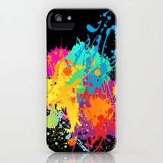 Splashs XIII iPhone & iPod Case by Rain Carnival - $35.00 #iphone #samsung #mobile #case #skin #splash #colorful #summer