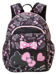 Sanrio Hello Kitty Backpack with Ear Metal Stud Leather Mini Bag