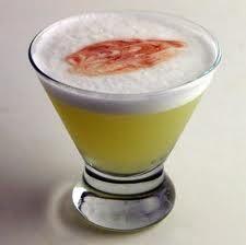 Peruvian Pisco Sour. Yum Yum!!!