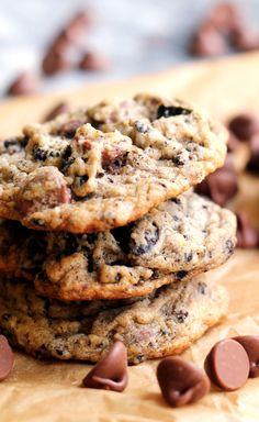 Malted Milk Chocolate Cookies and Cream Cookies