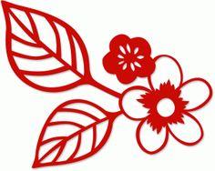 Silhouette Design Store - View Design #54826: cherry blossom
