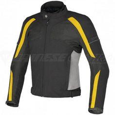 Dainese Spedio D-Dry Jacket Black / Honda Yellow / Black