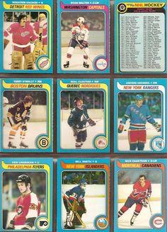235-243 Rogatien Vachon, Ryan Walter, Checklist, Terry O'Reilly, Real Cloutier, Anders Hedberg, Ken Linseman, Bill Smith, Rick Chartraw