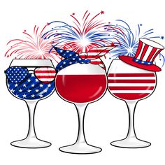 Patriotic Wine Glasses Sign, Signs, Wreath Sign, Craft Embellishment