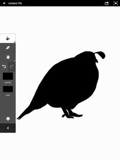 LockscreenFun: Free iPad Mini Backgrounds and App Reviews: App Tips: Create a silhouette with Adobe Ideas