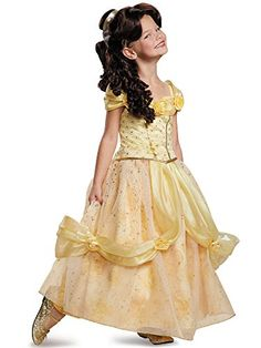 Disguise Belle Ultra Prestige Disney Princess Beauty  The Beast Costume Small46X ** For more information, visit image link.