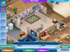 vf2 Virtual Families 2 Cheats, House Design, Mansions, House Styles, Outdoor Decor, Minecraft, House Ideas, Games, Ideas