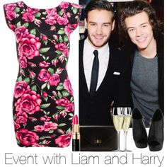 Event With Liam And Harry. Xx