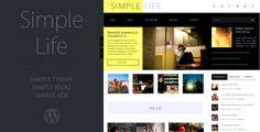 Simple Life - WordPress Blog Theme, AdSense Ready  -  https://themekeeper.com/item/wordpress/blog-magazine/simple-life-wordpress-blog-theme-adsense-ready