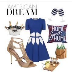Hosting a party? Host in style with AnaetCarol! #foreverindebttoourtroops! Use code SPRINGTIME for 20%OFF plus free shipping & return. Iris high heels AnaetCarol @anaetcarol; Alexander McQueen mini dress. #Anaetcarol #AlexanderMcQueen Created in the Polyvore iPhone app. #anaetcarol #style #Brazilian #fashionblogger #fashionista #july4th #spring #madeinBrazil #fashion2015