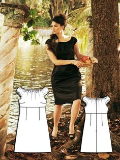 Screen Siren: 8 Sexy Plus Size Sewing Patterns – Sewing Blog | BurdaStyle.com