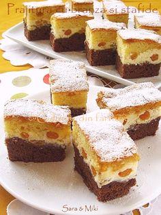 Culorile din farfurie: Prajitura cu branza si stafide Seafood Recipes, My Recipes, Cake Recipes, Dessert Recipes, Cooking Recipes, Favorite Recipes, Simple Recipes, Romanian Desserts, Romanian Food
