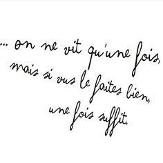 Repost from @inkulte  Bonne journée ☀️ #quote #carpediem