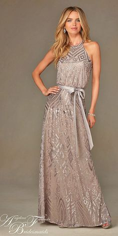 18 Full On Glitz Sequined & Metallic Bridesmaid Dresses 7