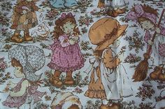 Holly Hobby - Oh the days when I was a little girl!!!  We had the whole bedroom set up :0)