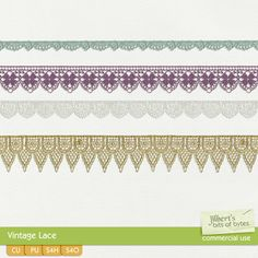 Vintage Lace  | CU/Commercial Use #digital #scrapbook #design tools at CUDigitals.com #digitalscrapbooking