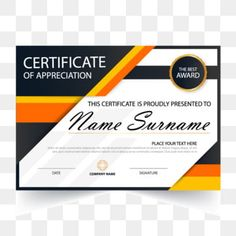 Elegance Horizontal Certificate With Vector Illustration Frame Certificate Template With And Modern Pattern Presentation PNG and Vector Certificate Of Recognition Template, Certificate Design Template, Certificate Background, Certificate Frames, Certificate Of Appreciation, Certificate Of Achievement, Design Ppt, Graduation Templates, Award Template