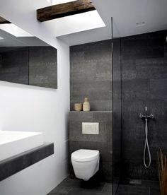 concrete tile bathrooms - Google Search