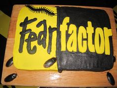 My daughter's Fear Factor Cake!