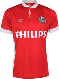 PSV Eindhoven celebrates more than 30 years of Philips shirt sponsorship with a special jersey for the last couple of games of the season. Football Kits, Football Jerseys, Eindhoven Netherlands, Jersey Atletico Madrid, Club Shirts, How To Be Outgoing, Finals, Polo Shirt, Polo