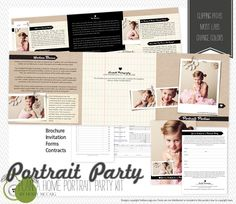 /// Portrait Party Kit by Holly McCaig $50