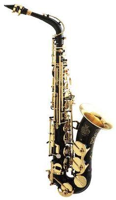 Saxophone in Black