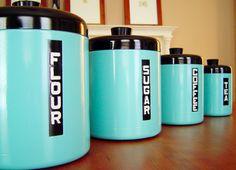 DIY canister set.