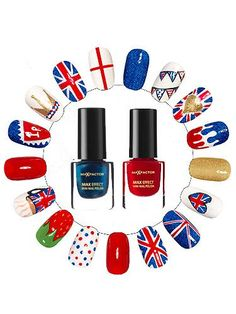 DIY Union Jack nail art- CosmopolitanUK