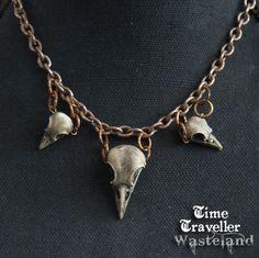 Post Apocalyptic Wasteland bird skull by TravellerWasteland