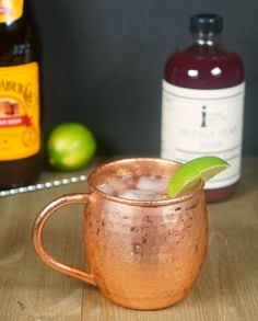 Prickly Pear Mule with Iconic Cocktail Co