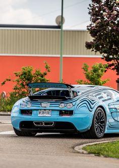 Bugatti Veyron Supersport Saphir Bleu