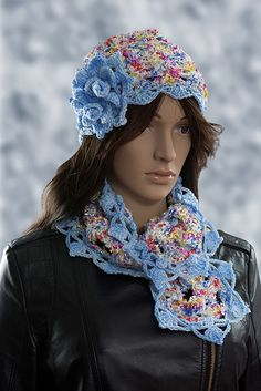 #crochet #scarf Pale Sky is a wonderfully detailed intricate scarf and is coloured with a dominent light blue and many other colours.     The scarf has a good thickness and length as can be seen from the picture so it can be wrapped around the neck and worn in a variety of different styles.     Why not treat a loved one to a gorgeous gift this holiday season. - See more at: http://www.pinsnneedles-alterations.co.uk/handmade-accessories/crochet-scarves/pale-sky#sthash.tUmUSnik.dpuf
