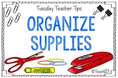 Teacher Work Room Tips