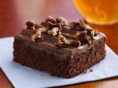Coke Cola Brownies! (I added a teaspoon of vanilla after reading the reviews...it was perfect.)