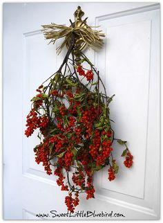 Berry wreath.