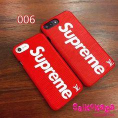 LV Supreme iPhoneXケース おしゃれ