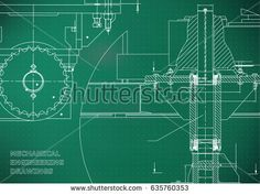 Blueprints. Engineering backgrounds. Mechanical engineering drawings. Cover. Banner. Technical Design. Light green. Points    #bubushonok #art #bubushonokart #design #vector #shutterstock  #technical #engineering #drawing #blueprint   #technology #mechanism #draw #industry #construction #cad