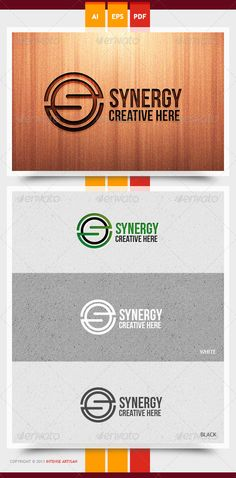 Synergy Logo Template #GraphicRiver SYNERGY LOGO TEMPLATE FEATURES: >> 100% RESIZABLE/SCALABLE VECTOR >> ORGANIZED GROUP/LAYERS/NAMED >> PRIMARY LOGO + BLACK & WHITE INCLUDED >> PRINT READY FILE INCLUDED: >> AI / EPS10 / PDF FONT USED: >> Bebas Neue – ( .dafont /search.php?q=bebas+neue) Created: 18October13 GraphicsFilesIncluded: VectorEPS #AIIllustrator Layered: Yes MinimumAdobeCSVersion: CS Resolution: Resizable Tags: 2013logo #2014logo #Slogo #attractive #business #businesslogo #cmyk…