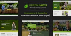 Green Lawn : Gardening And Landscaping WP Theme by ThemeChampion  Green Lawn WordPress Theme is designed specially for Gardening, Landscaping Companies, Lawn Services, Agriculture, Landscape Arc