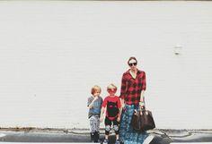 Britt Ritch & her boys on Babiekins mag blog.