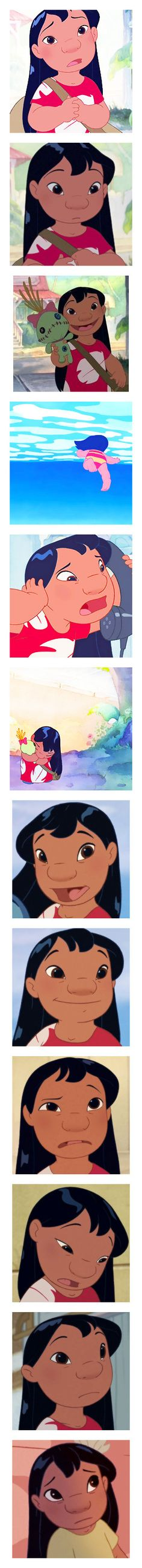 """Lilo Pelekai"" by bambolinadicarta-1 ❤ liked on Polyvore featuring disney, Lilo, lilopelekai, pics, dark olive, dresses, women's clothing, quotes, feelings and pictures"