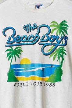 Vintage Beach Boys Tee