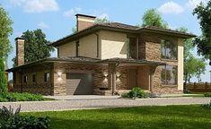 Проект дома C-214M - Проекты домов и коттеджей в Москве Gazebo, Pergola, House Construction Plan, Sims House Plans, House Layouts, Building Plans, My House, Exterior, Outdoor Structures