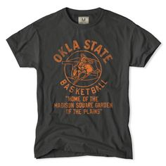 OKST Home Court T-Shirt | Tailgate Clothing | Frank Ozmun Graphic Design