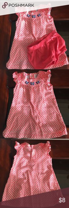 Carter's Dress Like new. Smoke free home. Underpants included. Carter's Dresses Casual